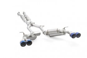 Ark Performance V2 GRIP True Dual Exhaust System -Burnt Tip Genesis Coupe 3.8 2010 - 2016