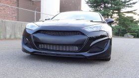 M&S Front Grill Matte or Gloss Black Genesis Coupe 2013 - 2016