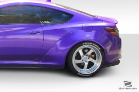 Extreme Dimensions Duraflex Circuit 75 MM Four Piece Fender Flare Kit Genesis Coupe 2013 - 2016