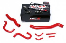 HPS Reinforced Silicone Radiator & Heater Hose Kit Various Colors 3.8 V6 Genesis Coupe 2013 - 2016