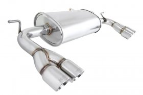 Megan Racing Stainless Rolled Tips Genesis Coupe 2.0T 3.8 2010 - 2012