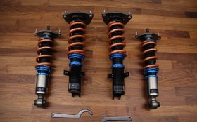 Scale Suspension Innovative Coilovers with Swift Springs Genesis Coupe 2010 - 2012