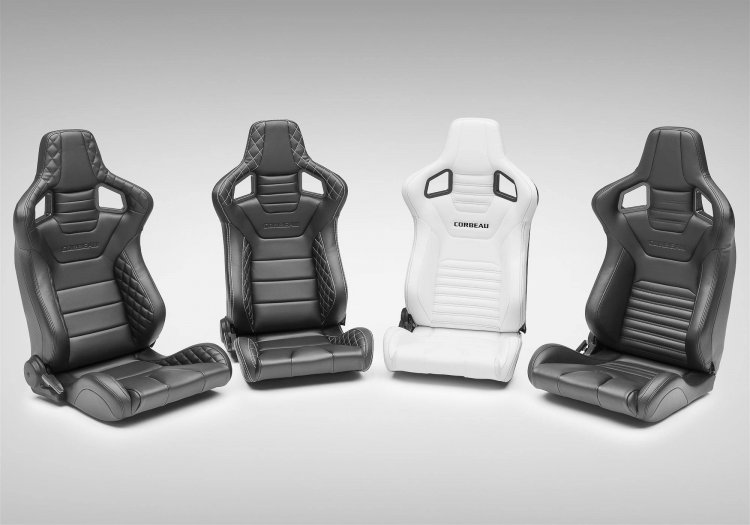 Corbeau Sportline RRS Reclinable Seat Various Colors - PAIR - Click Image to Close