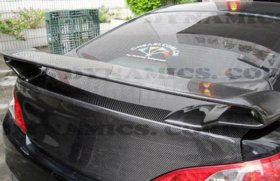 ABS Dynamic Carbon Fiber RS Rear Spoiler Genesis Coupe 2010 - 2016