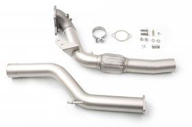 cp-e QKspl Hyundai Genesis Big Turbo Downpipe Genesis Coupe 2.0T 2013 - 2014