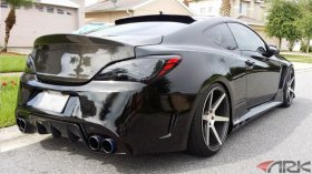 Hyundai Genesis Coupe Rear Bumpers And Lips
