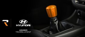 Raceseng ASHIKO TRANSLUCENT FINISH Shift Knob with Shift Pattern Genesis Coupe 2010 - 2016