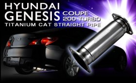 Tomei Expreme Ti Test Pipe for 2.0T Genesis Coupe