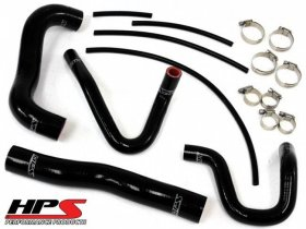 HPS Reinforced Silicone Radiator Coolant + Heater Hose Kit - Genesis Coupe 2013 - 2014