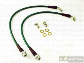 ENTHUSPEC REAR STAINLESS STEEL BRAIDED BRAKE LINES 2010 - 2016 Genesis Coupe