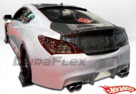 Hot Wheels Rear Bumper Genesis Coupe 2010 - 2016