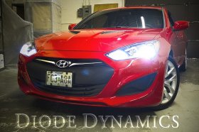Diode Dynamics 2013-2016 Hyundai Genesis Coupe Low Beam HID Conversion Kit