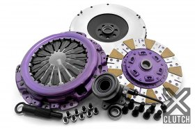 XCLUTCH Stage 2+ Street and Track Cushioned Ceramic Clutch Kit & Chromoly Flywheel Genesis Coupe 2010-2014 2.0T