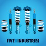 Five8 Industries Coilovers Genesis Coupe 2011 - 2016