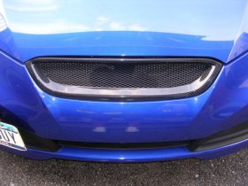 Sarona Carbon Fiber Front Grill 2010 - 2012 Genesis Coupe