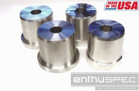 ENTHUSPEC SOLID REAR SUB FRAME RISERS Genesis Coupe 2010 - 2016