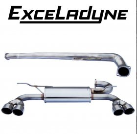 Exceladyne Catback Exhaust System 2.0T Genesis Coupe 2010 - 2014