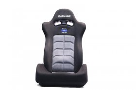 BUDDY CLUB RACING SPEC SPORT RECLINABLE SEAT: BLACK (W/ADAPTOR PLATES)