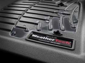 WeatherTech DigitalFit BLACK Front FloorLiner Set Genesis Coupe 2010 - 2012