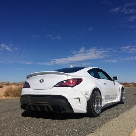 Ark Solus Wide body Front and Rear Fenders and Side Skirts Genesis Coupe 2010 - 2016