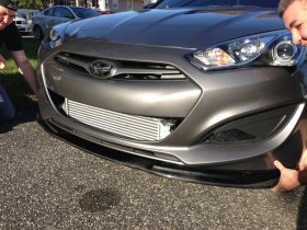 ABS Dynamic Carbon Fiber front Lip Genesis Coupe 2010 - 2016