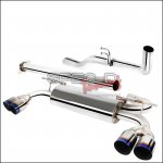 Spec-D STAINLESS STEEL CATBACK EXHAUST Burnt Tips Genesis Coupe 2.0T 2010 - 2014