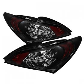 Spyder Auto Black LED Tail Lights Genesis Coupe 2010 - 2016