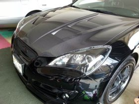 ABS Dynamic HC Carbon fiber Hood Genesis Coupe 2010 - 2012