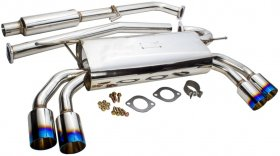 JDM Sport Stainless Steel Catback w/ Burnt Tips 2.0T Genesis Coupe 2010 - 2014