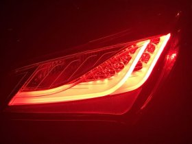 ANZO LED TAIL LIGHTS RED/CLEAR GENESIS COUPE 2010 - 2016