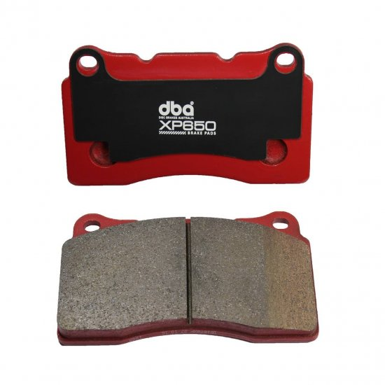 DBA XP650 FRONT BREMBO TRACK HEAVY LOAD PERFORMANCE BRAKE PADS FOR GENESIS COUPE 2010 - 2016