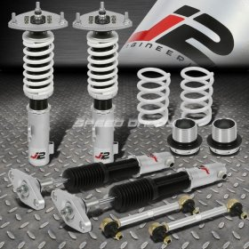 J2 ENGINEERING 32-WAY ADJUSTABLE COILOVER DAMPER+SPRINGS 2011 - 2016 Genesis Coupe
