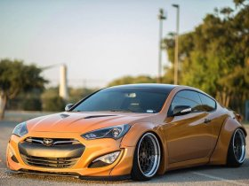 Remake Widebody Front Flares Genesis Coupe 2013 - 2016