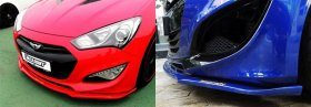 RoadRuns Front Lip Genesis Coupe 2013 - 2016