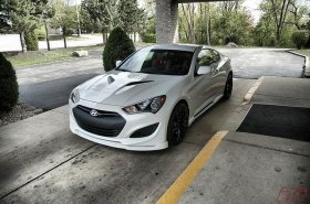 Sequence Spec-RS Front Lip Genesis Coupe 2013 - 2016