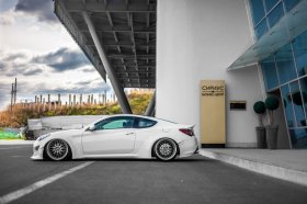 Monster V2 Full Wide body kit 2013 - 2016 Genesis Coupe