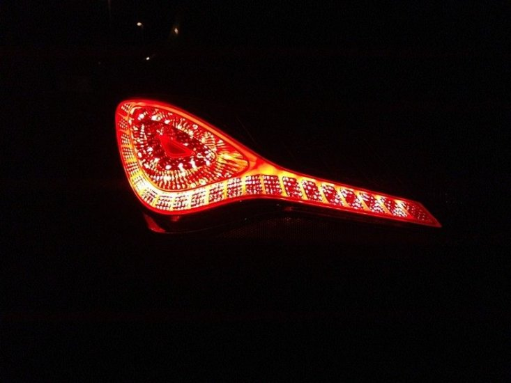 OEM Hyundai Genesis Coupe LED Tail lights for 2010 -2016 - Click Image to Close