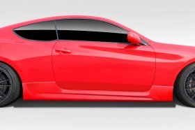 Extreme Dimensions AM-S GT Duraflex Side Skirts 2010 - 2016 Genesis Coupe