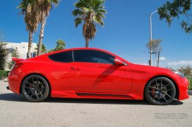 M&S Carart ABS Hyper-G Sideskirts 2010 - 2016 Genesis Coupe