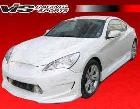 Vis Racing AMS GT Side Skirts Genesis Coupe 2010 - 2016