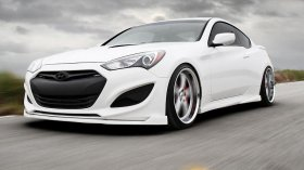 Sarona Front Diffuser Genesis Coupe 2013 - 2016