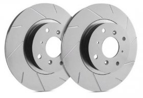 SP Performance Slotted REAR Rotors Genesis Coupe with Brembos - PAIR