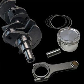 "BRIAN CROWER 3.8L V6 HYUNDAI GENESIS COUPE STROKER KIT - 93MM BILLET CRANK, SPORTSMAN RODS (5.886""), PISTONS, BALANCED"