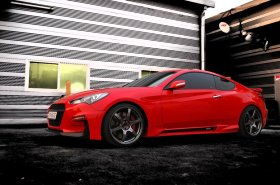 M&S Carart Hyper-G Sideskirts 2010 - 2016 Genesis Coupe