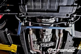 GTSPEC 4-Point Front Lower Subframe Chassis Brace Genesis Coupe 2010 - 2012