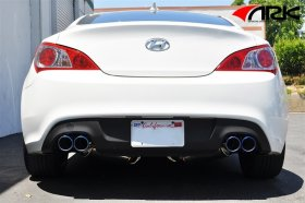 Ark Performance GRIP Catback Exhaust Genesis Coupe 2.0T -Burnt Tip 2010 - 2014