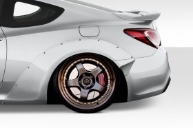 Extreme Dimensions Duraflex MSR V2 70mm Rear Flares Genesis Coupe - 4 Piece