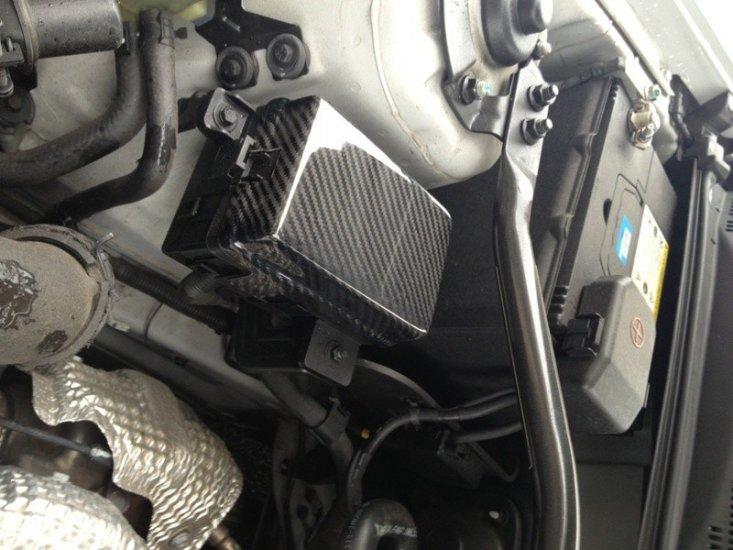 carbon fiber fuse box cover set hyundai genesis coupe 2010 - 2016 :  gctuner, hyundai genesis coupe performance parts & accessories  gctuner