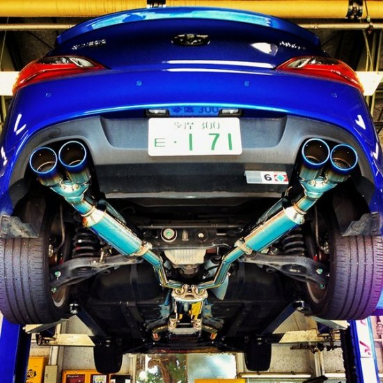 Injen 3.8L SES Exhaust System Genesis Coupe 2010   2016