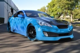 ARK C-FX Fiber Glass Hood Genesis Coupe 2010 - 2012